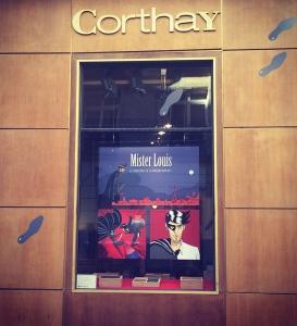Corthay - Les vitrines