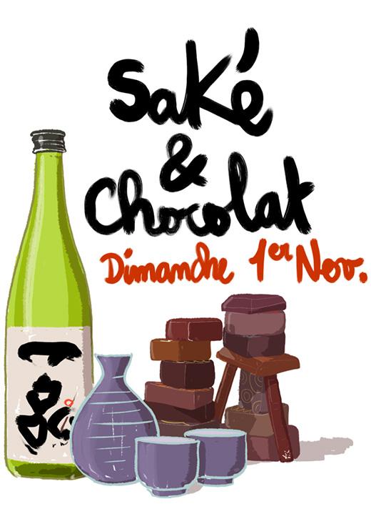 sake-chocolat