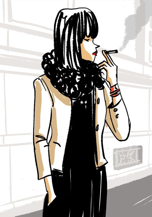 parisienne-illustration-street-style