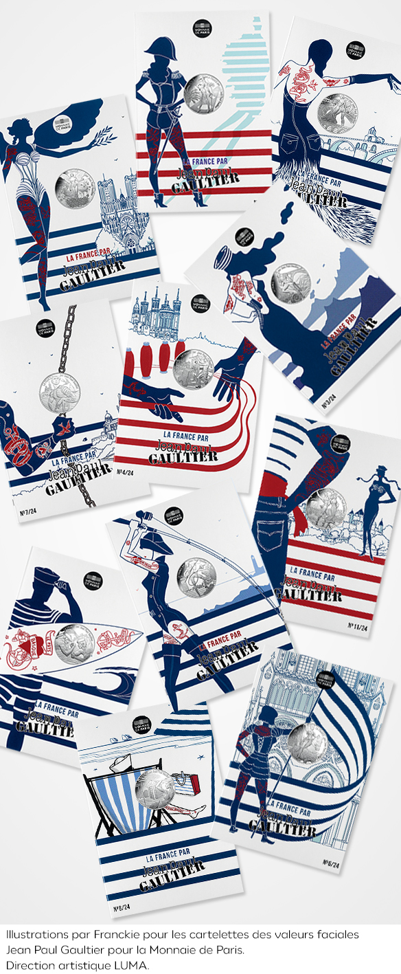 illustration-cartelettes-packaging-la-france-par-jean-paul-gaultier-monnaie-de-paris-franckie-alarcon